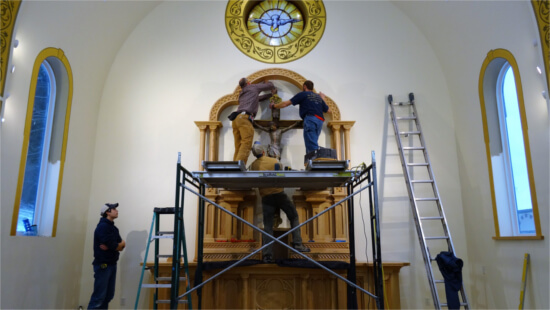 St.-Gabriels-Monastery-Construction-Sisters-Convent-Altar